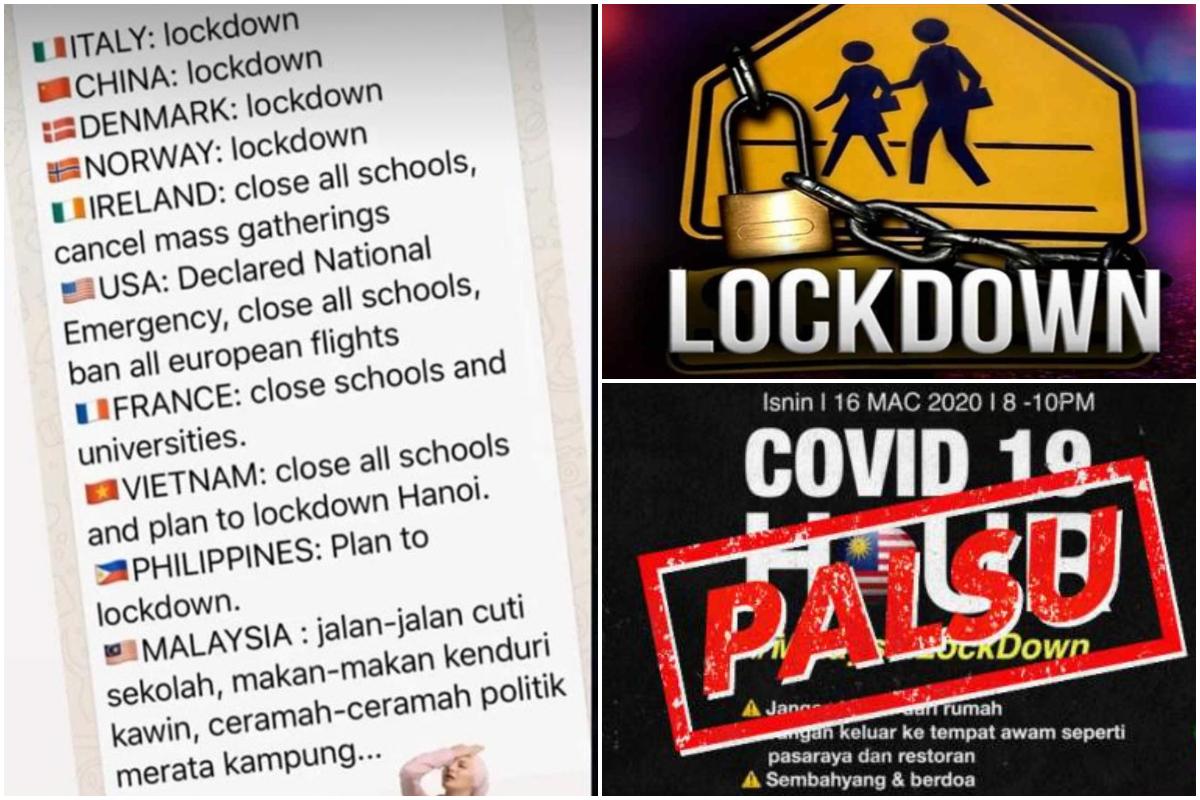 Kenapa Malaysia Ni Lambat Keluarkan Arahan Lockdown?' Perkongsian ...