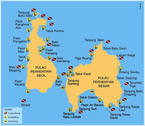 Tip Dan Panduan Menarik Untuk Anda Ke Pulau Perhentian Libur